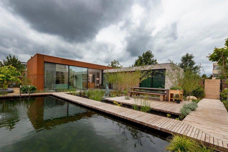 Více než energeticky neutrální bungalov v Utrechtu