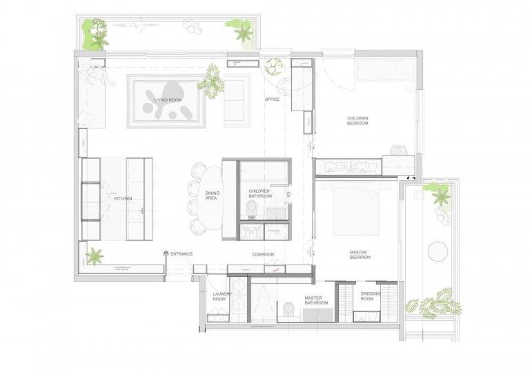 Pod taktovkou architektů ze studia Toledano+architects vzniklo vysoce moderní loftové bydlení pro mladý izraelský pár. Zaujme svým nezvyklým uspořádáním, vzdušností, světelným komfortem i příjemnou kombinací materiálů a barev.