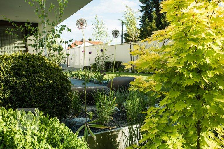 Zahrada plná barev po celý rok