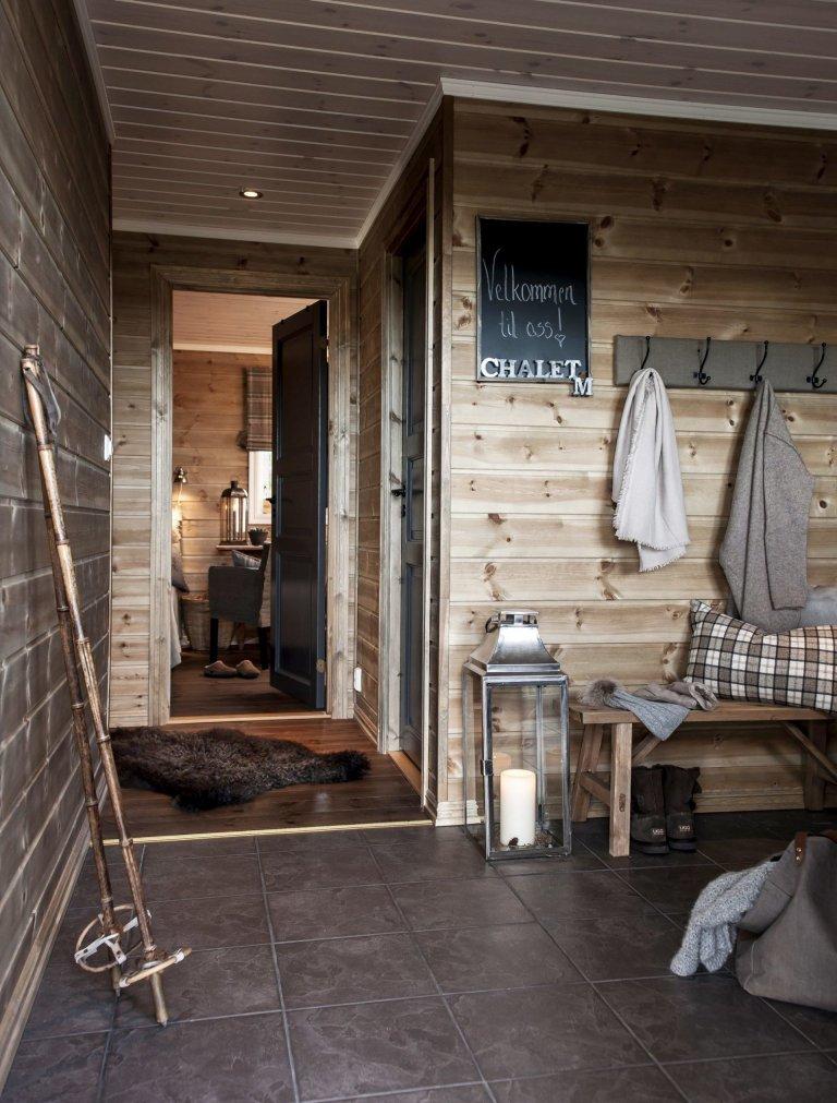Zrekonstruovaná dřevostavba v Norsku