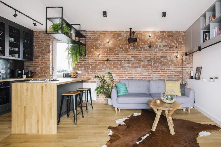 Malý byt ve stylu loftu