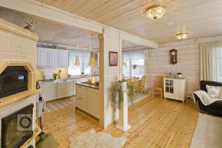 Finský srubový dům na přání