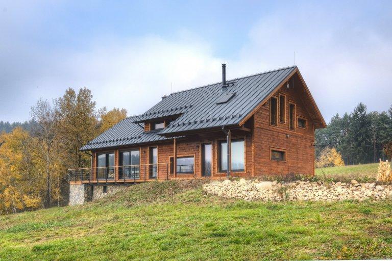 Finský dům na Šumavě