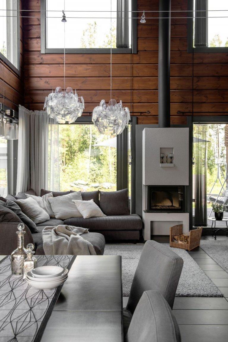 KONTIO Kivilahti - stylový dům ze dřeva