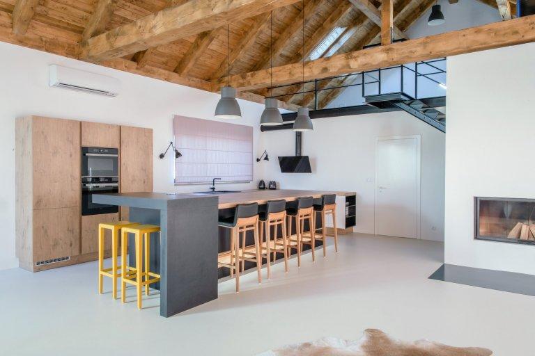 Kuchyň středobod rodinného domu