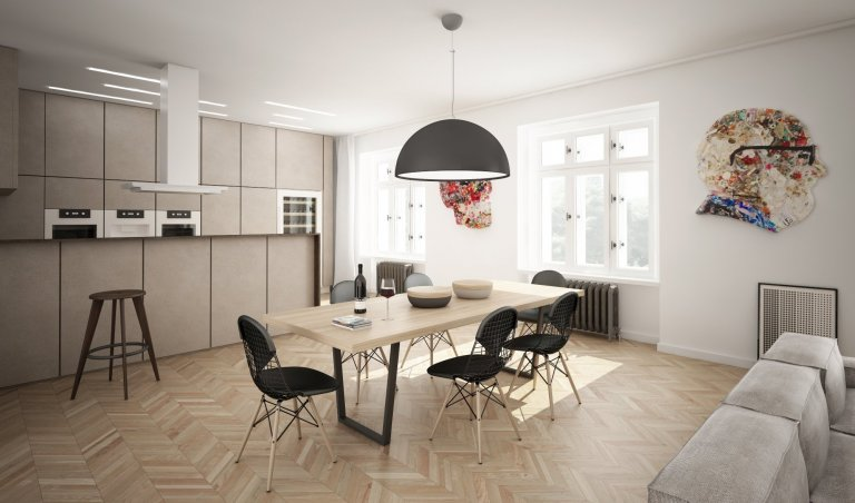 duplex apartment Ovenecká