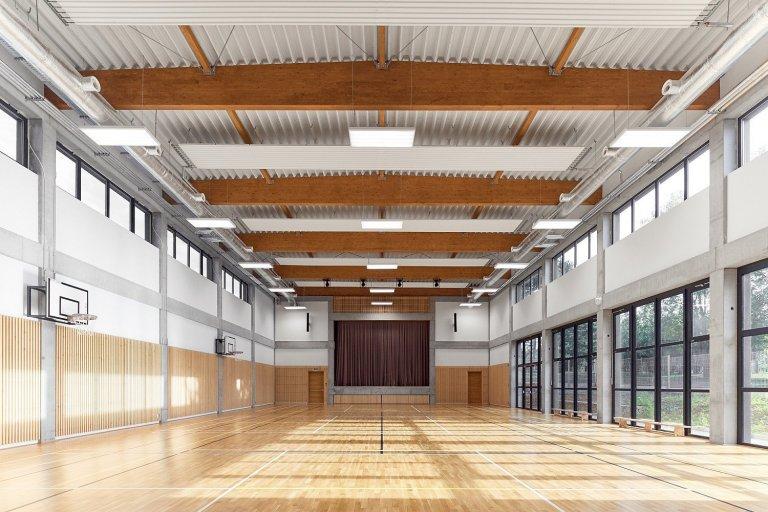 Sportovní a společenská hala Nebovidy u Brna