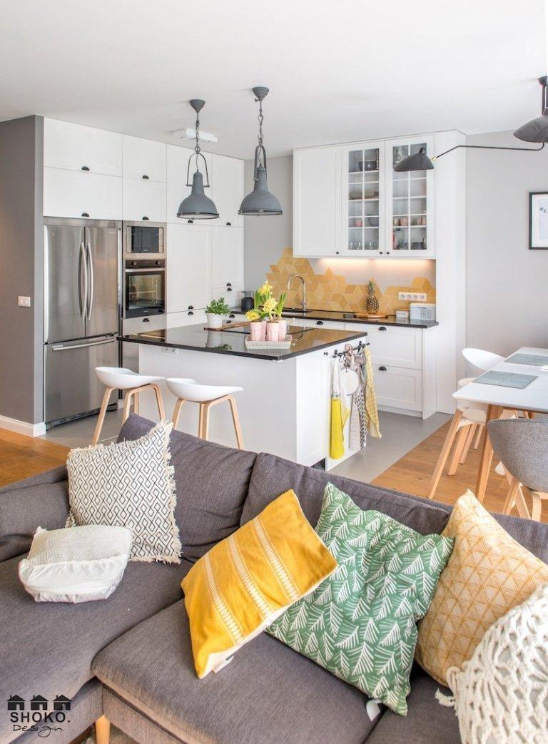 Moderní bydlení v skandinávském boho stylu