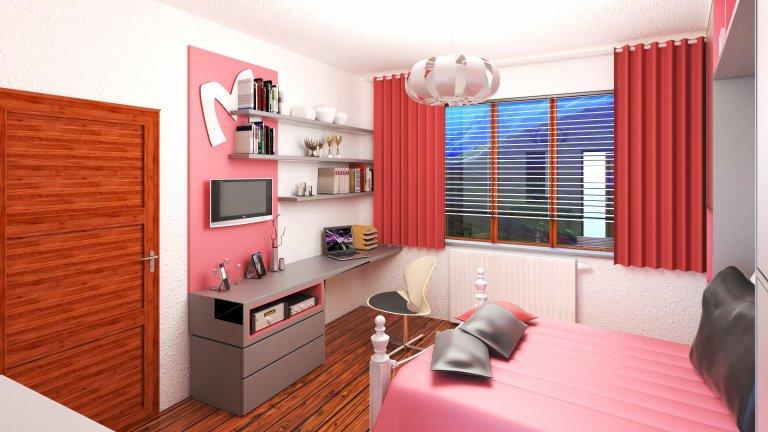 Girl:s room - PINK