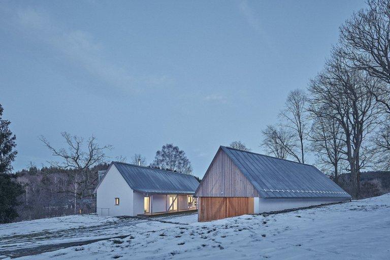 Dům se stodolou na Vysočině