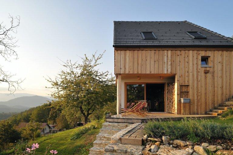 Dům na kopci s úžasným výhledem