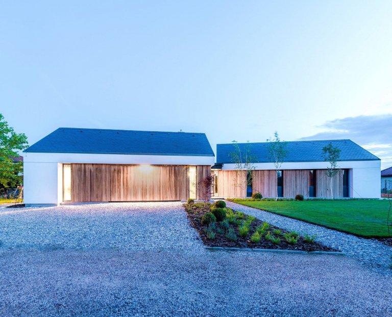 Dům plný světla ve tvaru hvězdy
