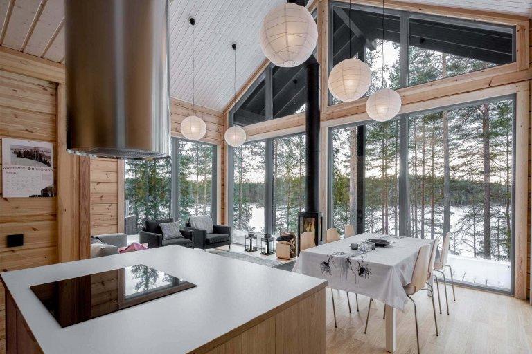 Ekologický a stylový dům ve Finsku