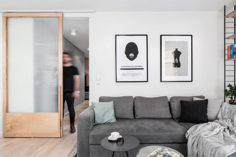 Malý byt ve skandinávském stylu
