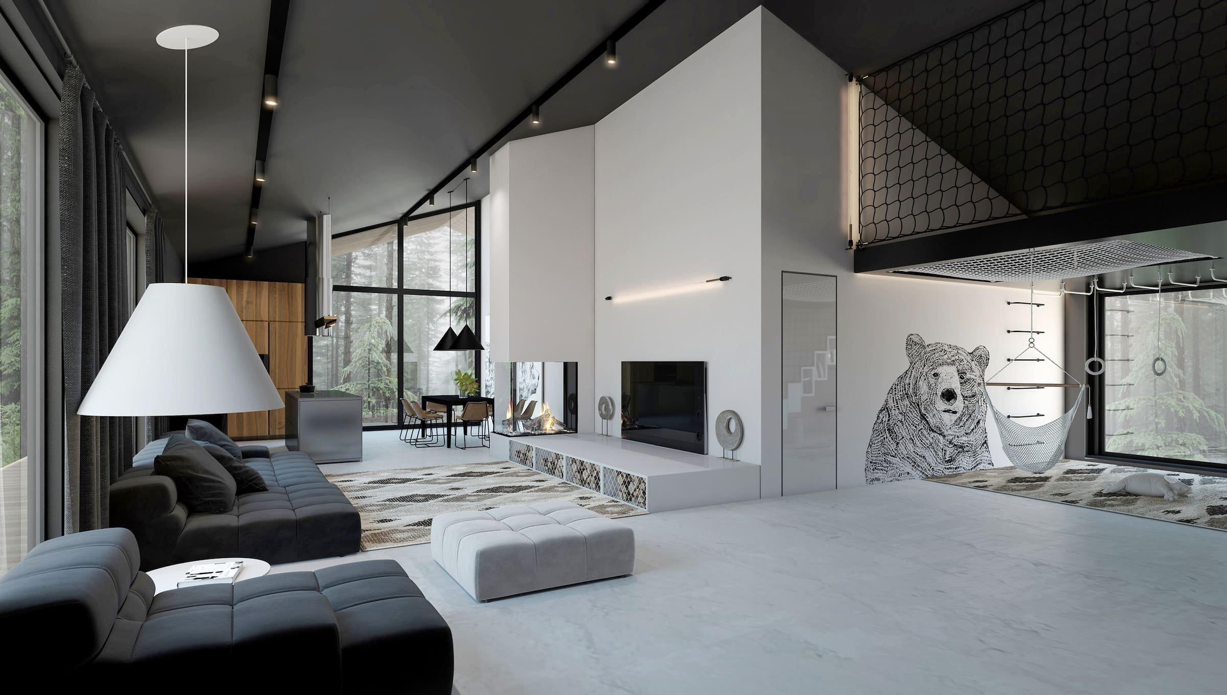 Moderní dům pro děti