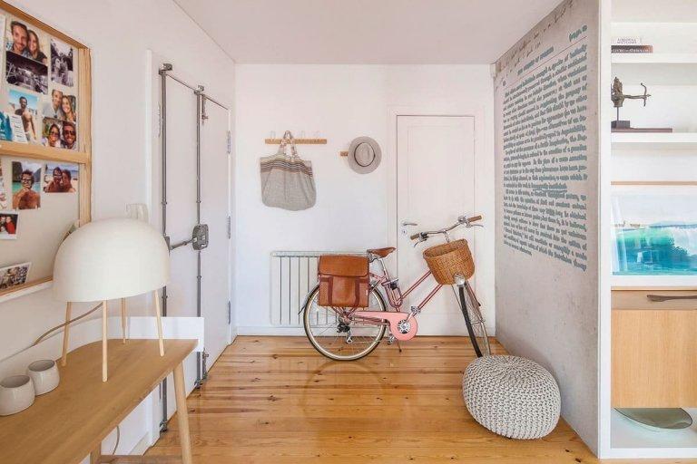 Skandinávský styl interiéru v Portugalsku