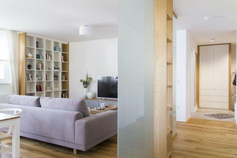 Starý byt po důkladné rekonstrukci splnil majitelům sen