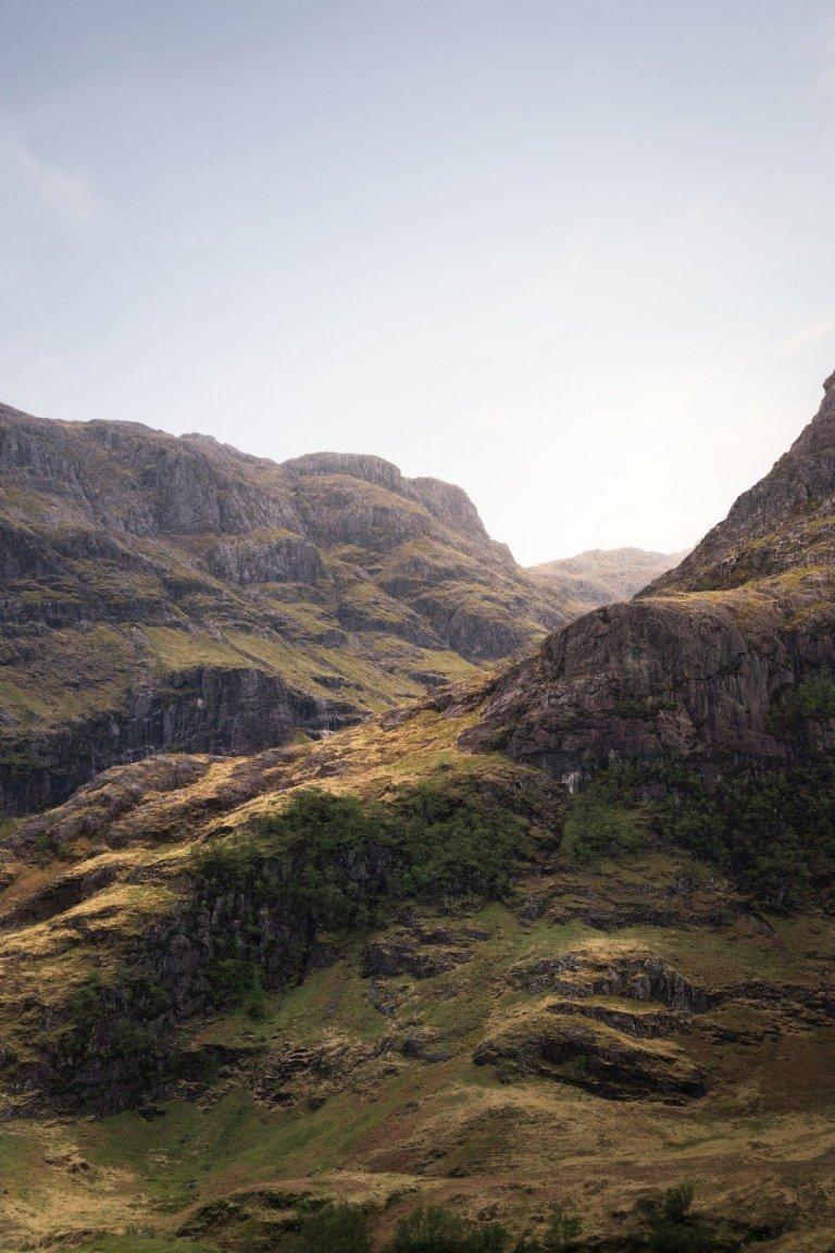 Víkendový dům uprostřed skotské přírody