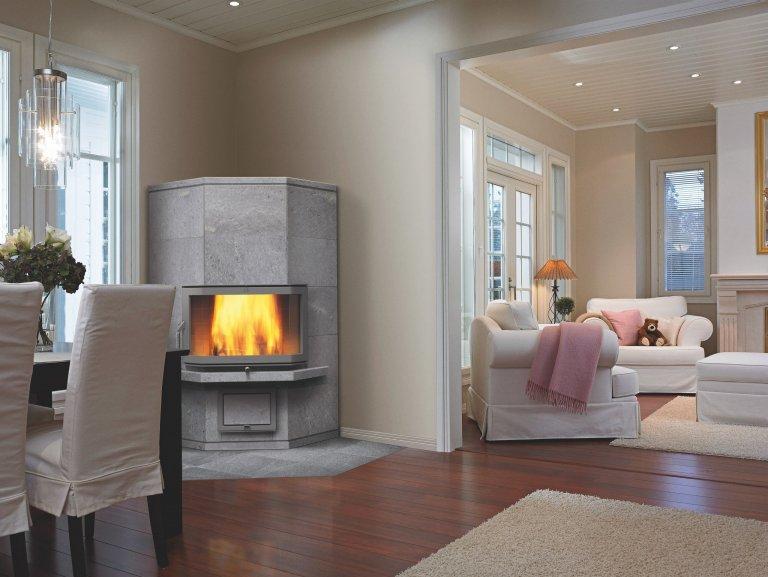 Mastková akumulační kamna - to pravé teplo do domu