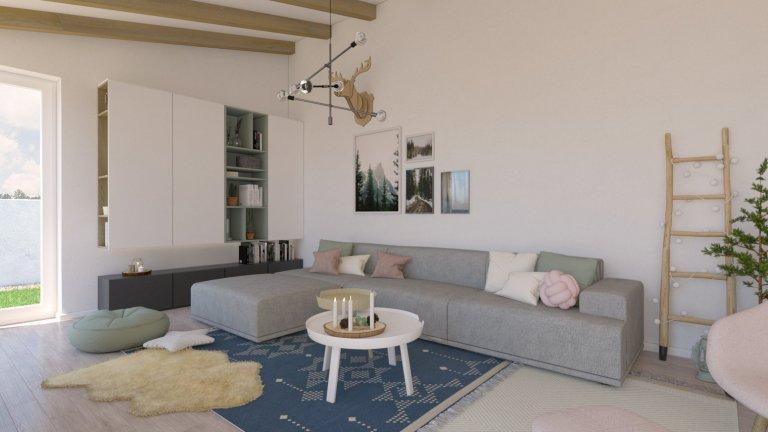 Škandinávsky nádych interiéru