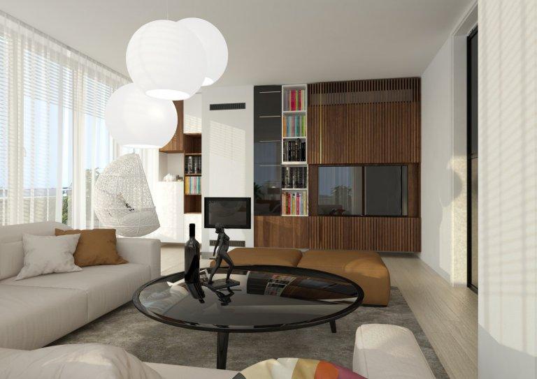 Luxusný interiérový dizajn bytu Slanec Bratislava