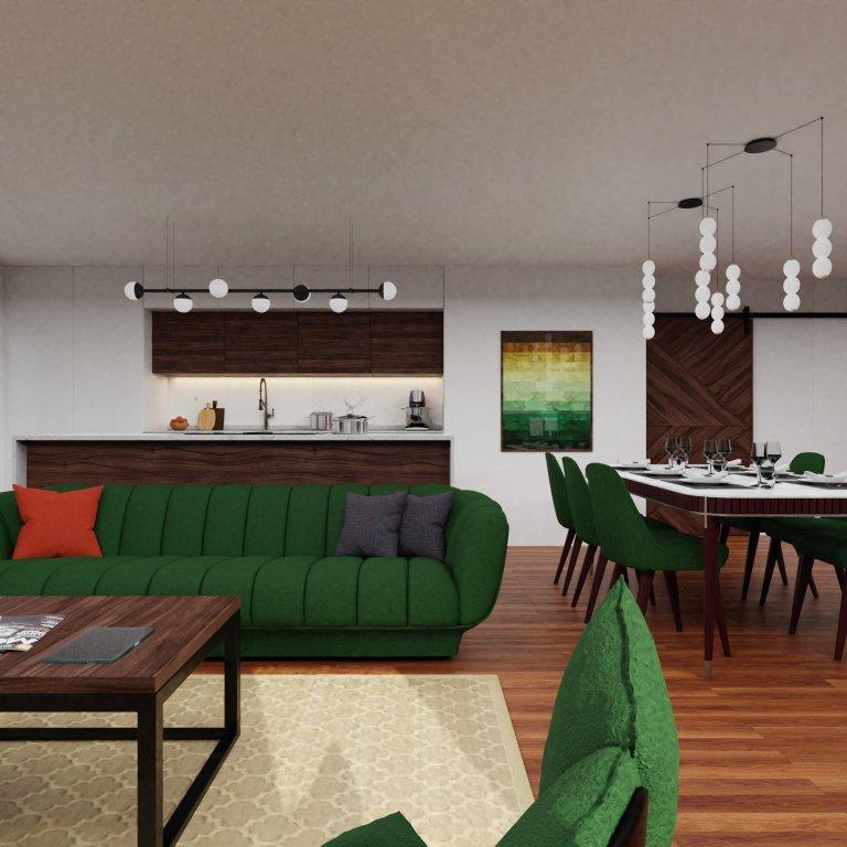 Obývací pokoj s klavírem