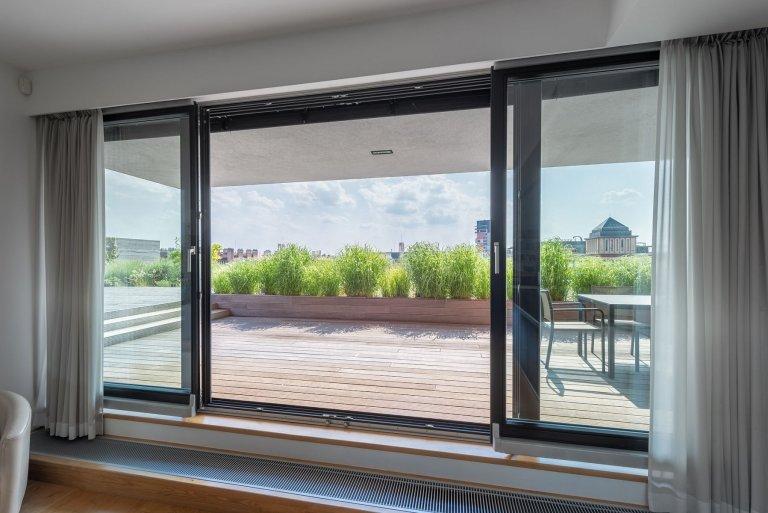 Bydlení se zahradou na střeše