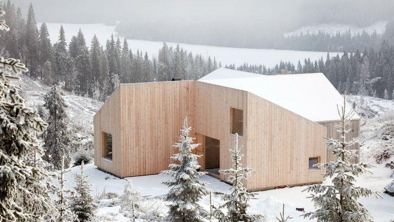 Komfortní dřevostavba s funkčním interiérem