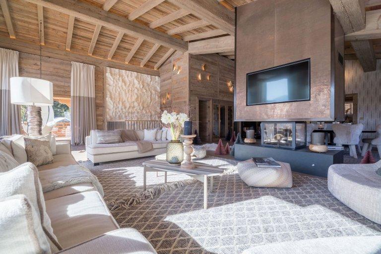 Luxusní chata v Megéve