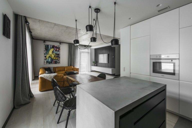 Minimalistický byt ve Vilniusu