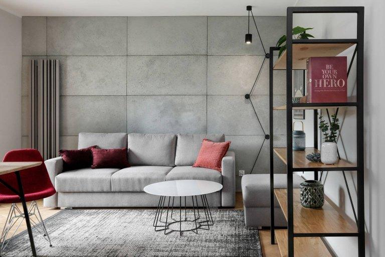 Šedá barva v interiéru není nuda