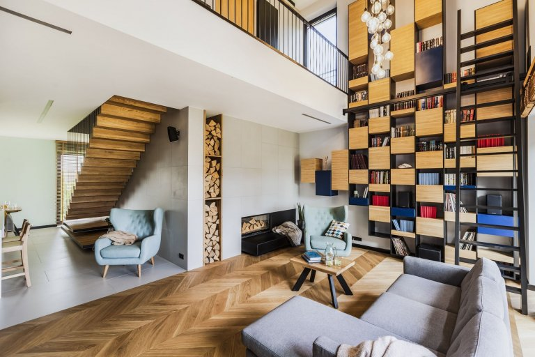 Sen o moderním bydlení v bažinaté krajině