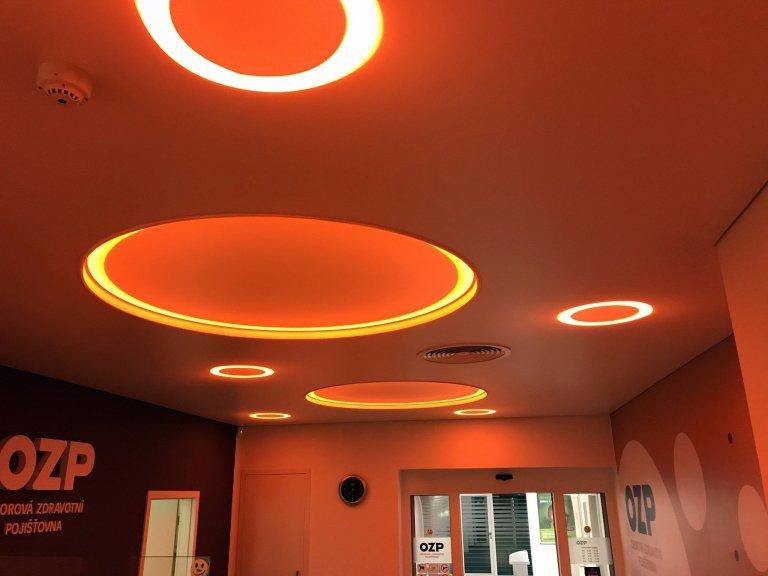 Rekonstrukce stropu OZP Praha