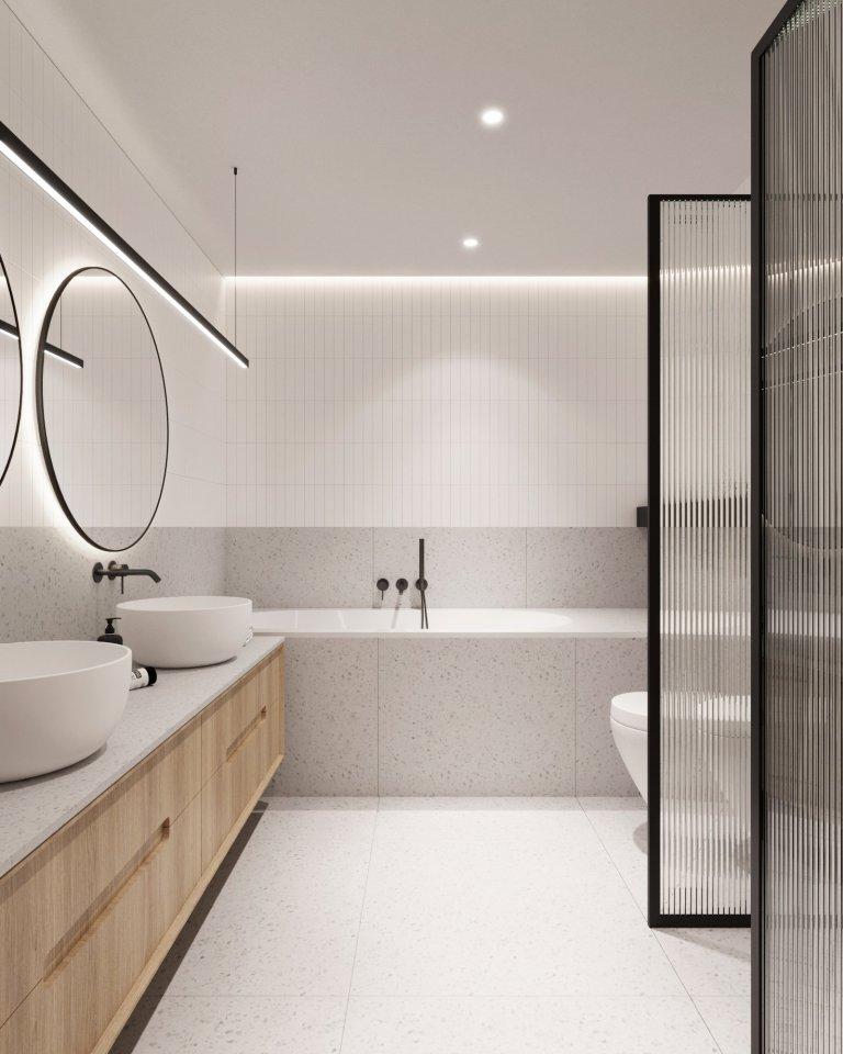 Interiér novostavby řadového rodinného domu na Praze 10 se nese v duchu praktičnosti a funkčnosti. Mladý manželský pár se pro realizaci rozhodl s ohledem na to…