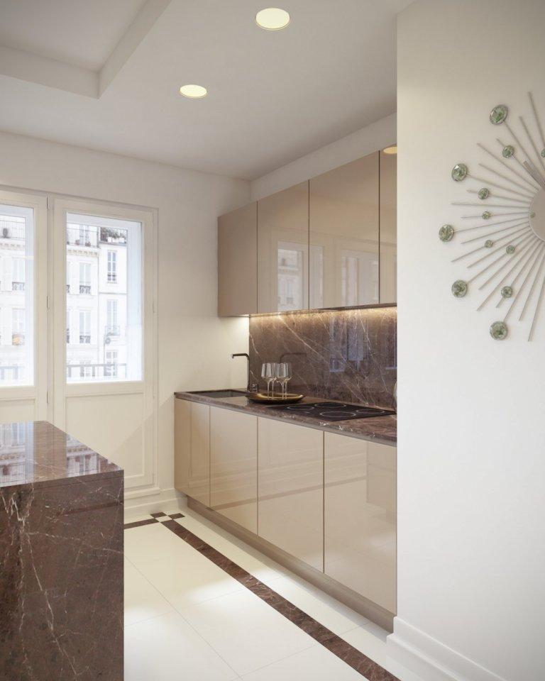 Návrh a vizualizácie luxusného bytu v Prahe. Projekt bol rozdelený do dvoch častí. V prvej časti som vypracoval vizualizácie pre obývaciu izbu spojenú s…