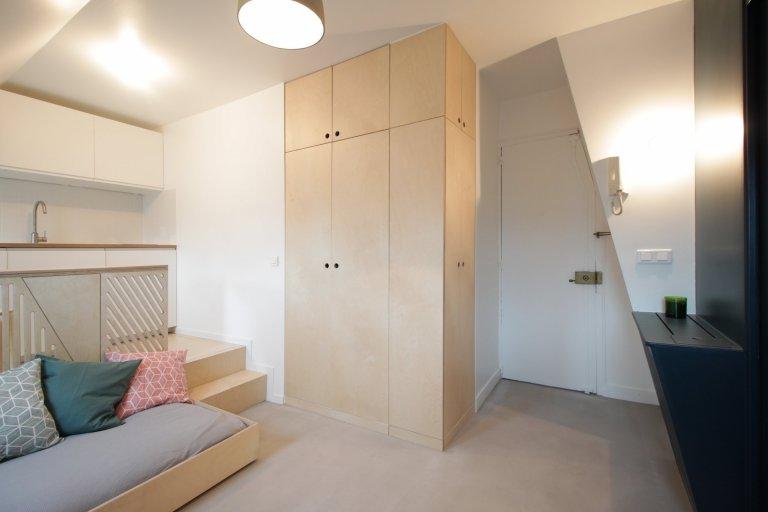 Byt plný překvapení skýtá na 15 m2  veškerý komfort
