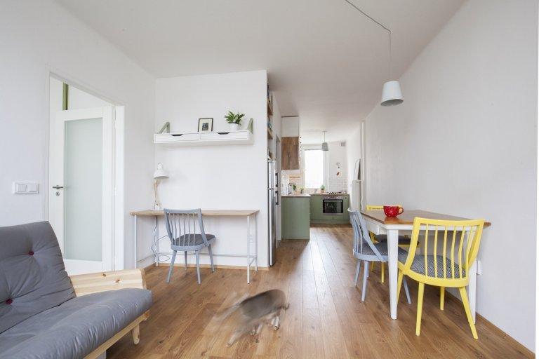 Kočičí byt v Dejvicích - příjemné bydlení na 38 m²