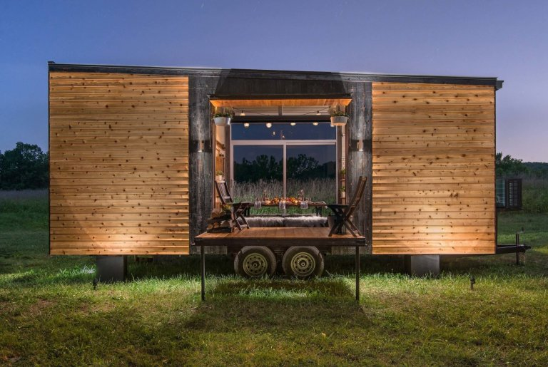Mobilní domek jako plnohodnotné bydlení