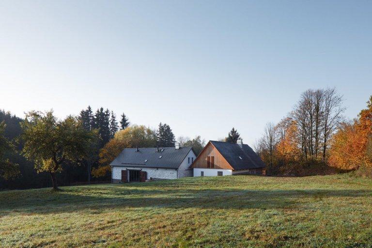 Vdechli nový život staré venkovské usedlosti