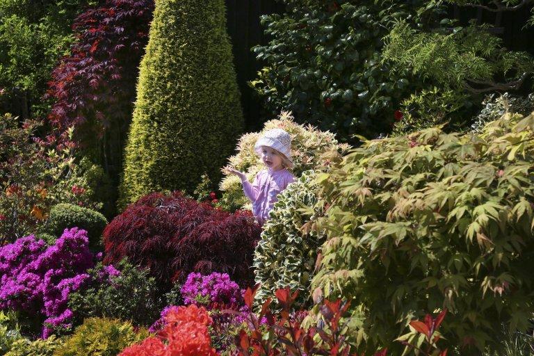 Oceňovaná zahrada hraje všemi odstíny podzimních barev