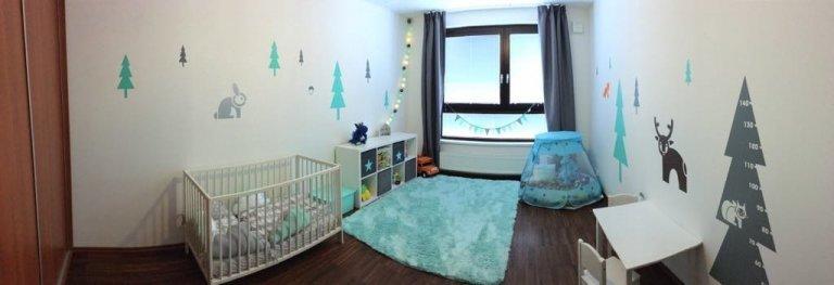 Dětský pokoj s s lesními zvířátky