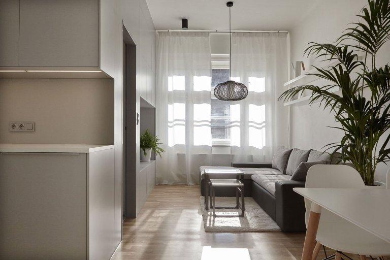 Interiér Vršovická - obývací pokoj