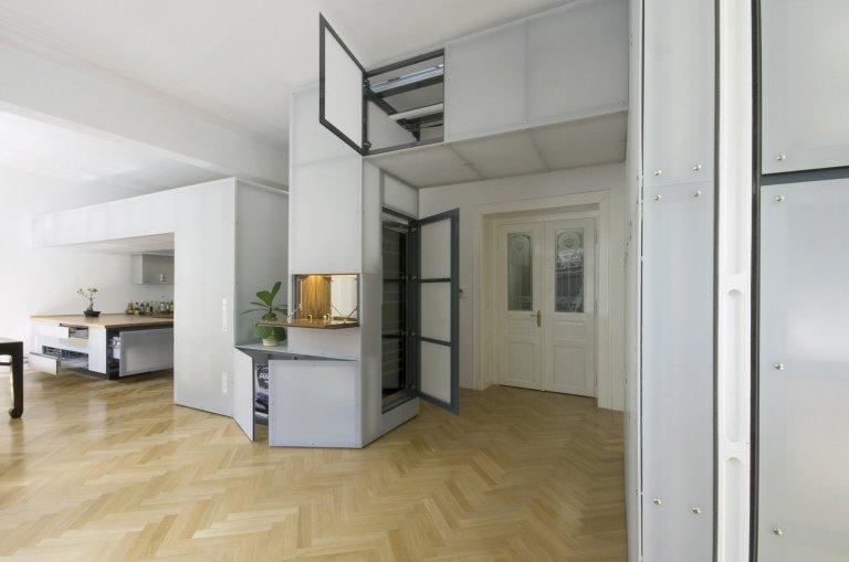 Rekonstrukce bytu na Letné