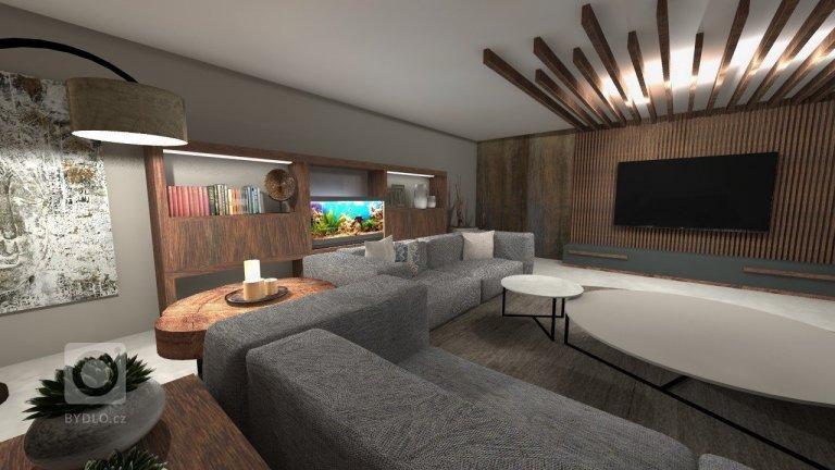 Obývací pokoj - moderní