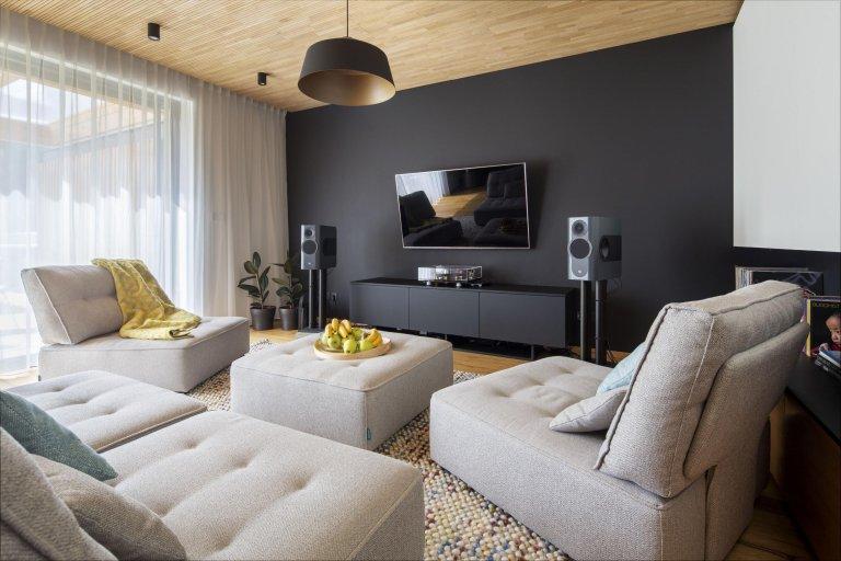 Barevný interiér rodinného domu