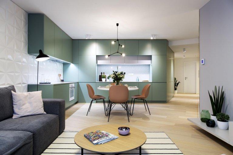 Vzorový byt v skandinávském stylu