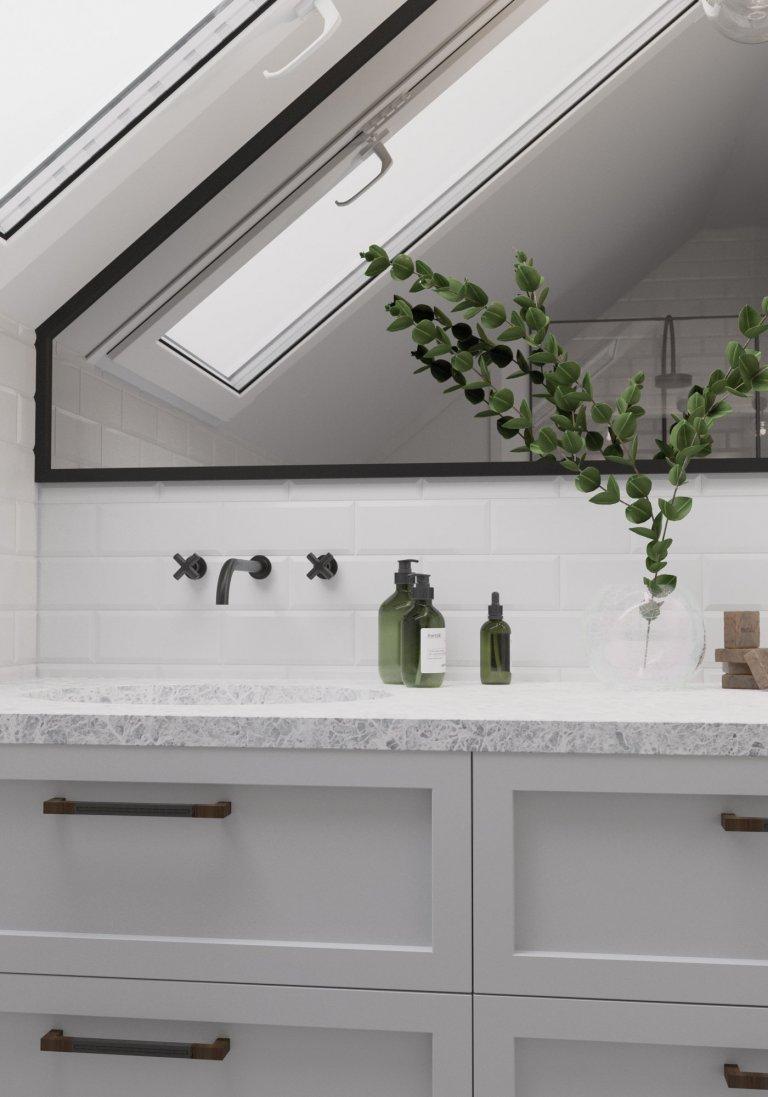 Koupelna Black & White