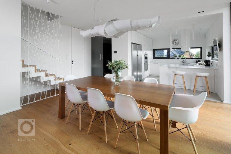 Interiér rodinného domu Jílové