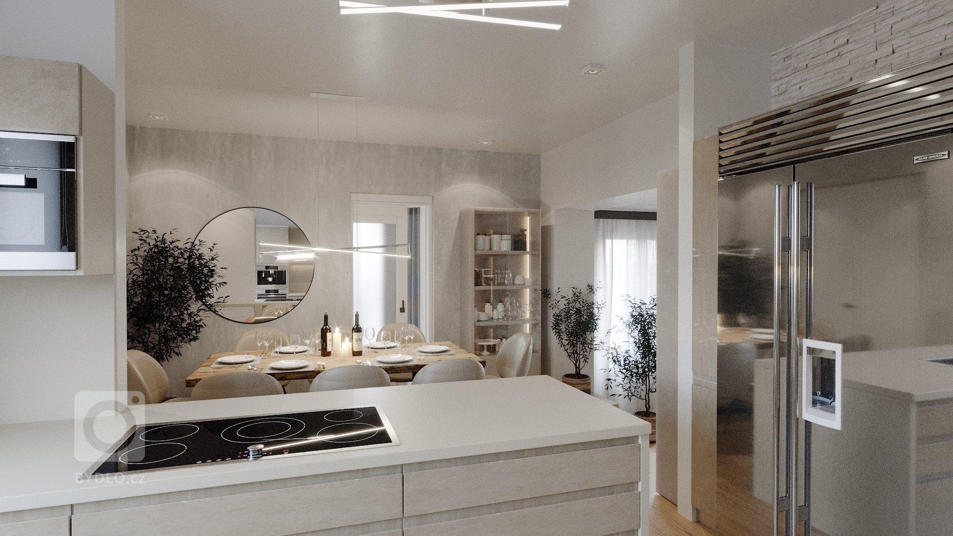 Komplexní rekonstrukce domu zahrnovala zpracování designových návrhů interiéru. Práce byla o to těžší, že majitelé chtěli zachovat část původního nábytku.&nbsp…