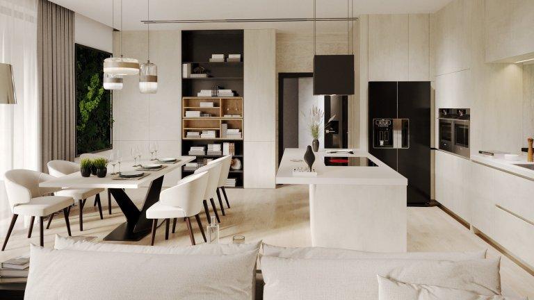 Byli jsme osloveni na spolupráci na novostavbě rodiného domu v Hlučíně. Jedná se o moderní vilu s velkou vstupní halou. Dále pak společný obývací pokoj spojený…
